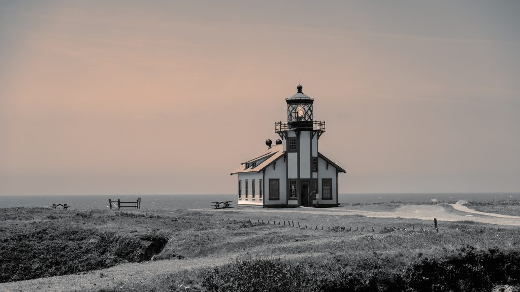 Lori Harrington, Point Cabrillo Light Station, Photograph, 23x16""