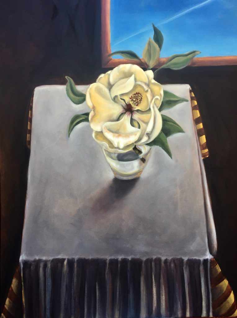 Hilary Saner, California Magnolia from Diebenkorn