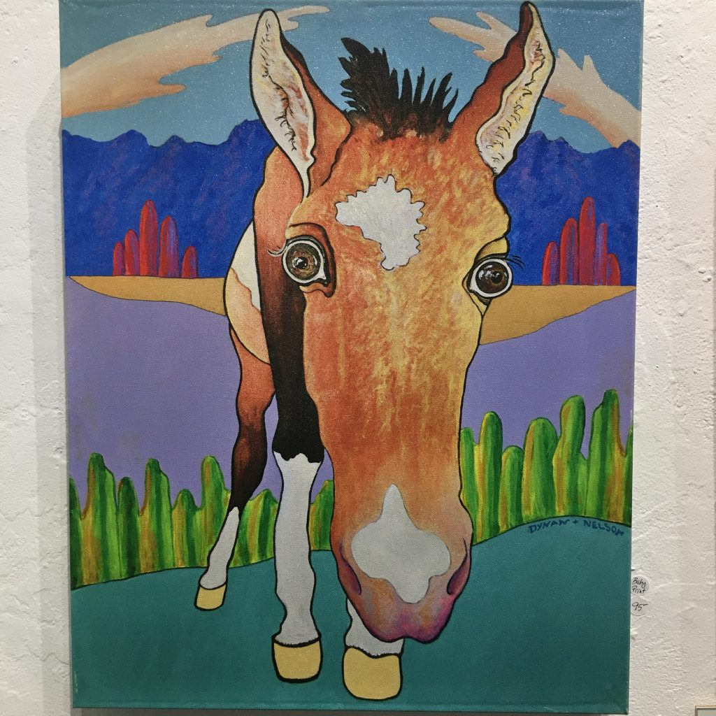 """Baby Horse"", Acrylic on canvas, 36x24"", $395."