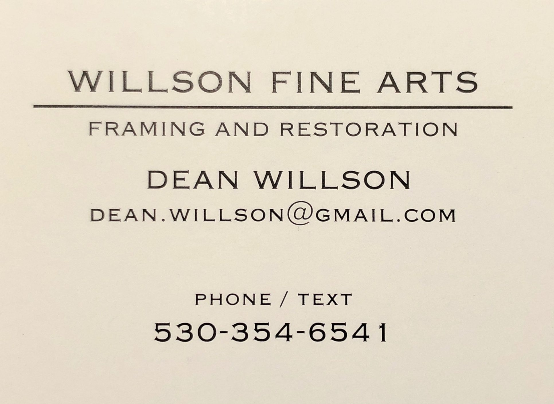 Dean Willson Fine Arts