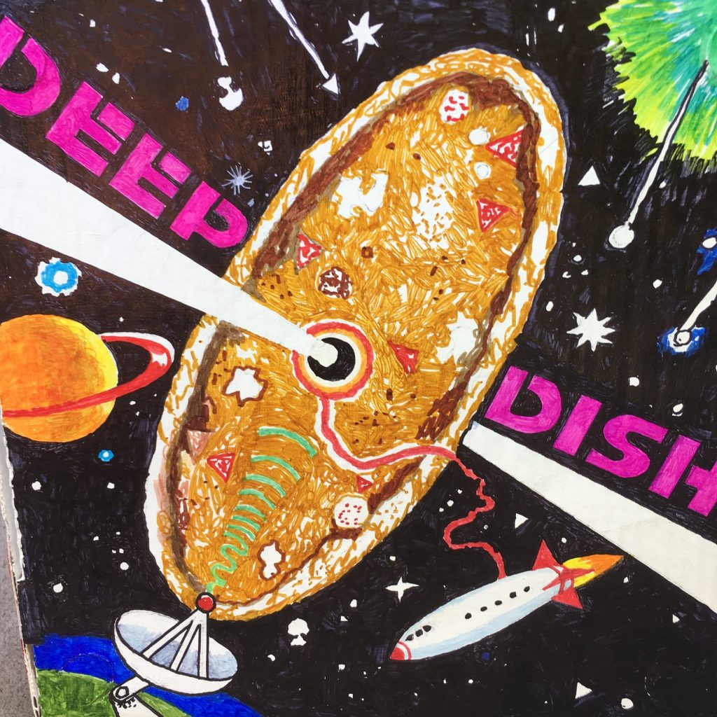 """Deep Dish"" - Permanent Markers by Nicolai Larsen"