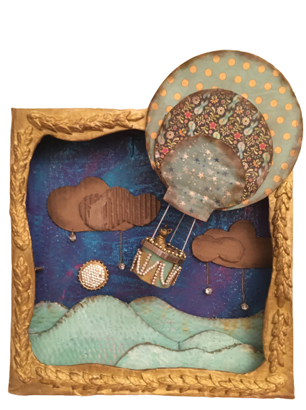"""""""Lucy in the Sky with Diamonds"""" - Mixed Media by Patti Lloyd"""
