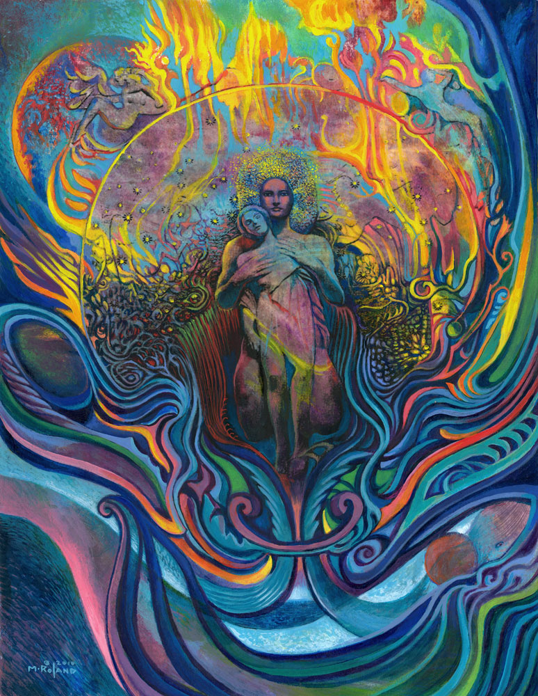"""Mark Roland, Soul Ship, 2010 mixed media, 12"""" x 10"""""""